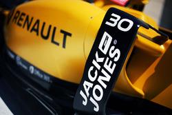 Часть машины Renault Sport F1 Team RS16