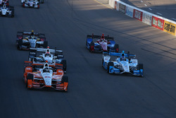 Симон Пажено, Team Penske Chevrolet и Марко Андретти, Andretti Autosport Honda