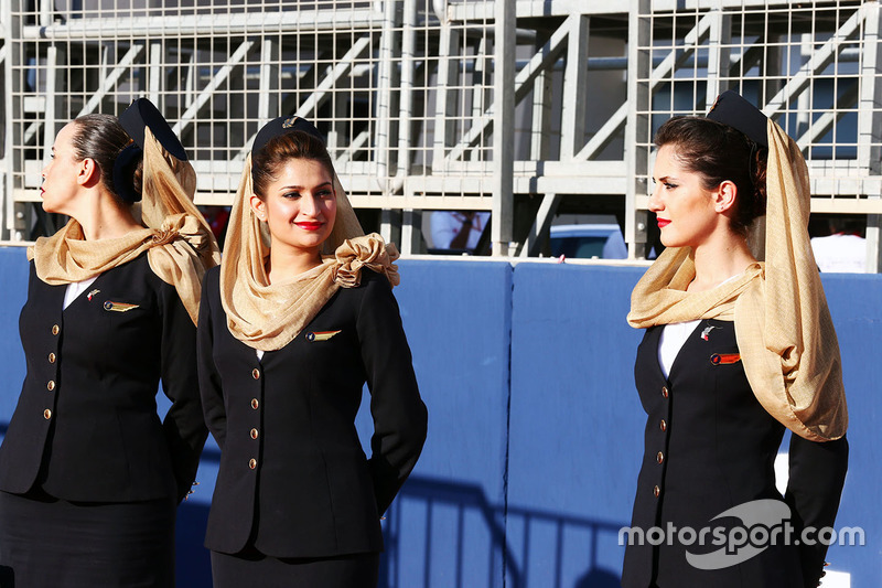 Grid girls (F1)
