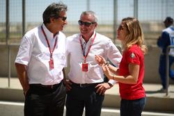 Pasquale Lattuneddu, FOM, Marcello Lotti (ITA) CEO WSC y Michela Cerruti, Mulsanne Racing, Alfa Romeo Giulietta TCR