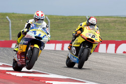 Dominique Aegerter, CarXpert Interwetten, Kalex; Alex Rins, Paginas Amarillas HP 40, Kalex