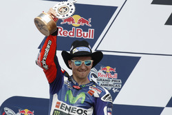 Segundo lugar, Jorge Lorenzo, Movistar Yamaha MotoGP, Yamaha
