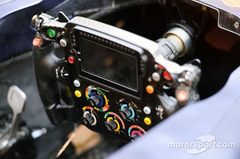 Scuderia Toro Rosso STR11 stuurwiel