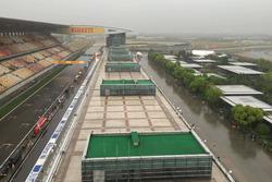 Shanghai circuit paddock