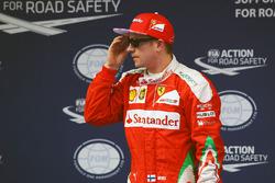 Tercer lugar Kimi Raikkonen, Ferrari