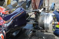 Задняя часть Scuderia Toro Rosso STR11