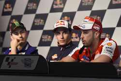 Jorge Lorenzo, Yamaha Factory Racing, Marc Márquez, Repsol Honda Team, Andrea Dovizioso, Ducati Team