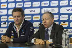 Alejandro Agag, Formula E CEO e Jean Todt, Presidente FIA