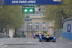 Sébastien Buemi, Renault e.Dams e Nicolas Prost, Renault e.Dams