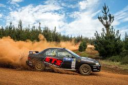 Simon Evans, Ben Searcy, Subaru WRX STI