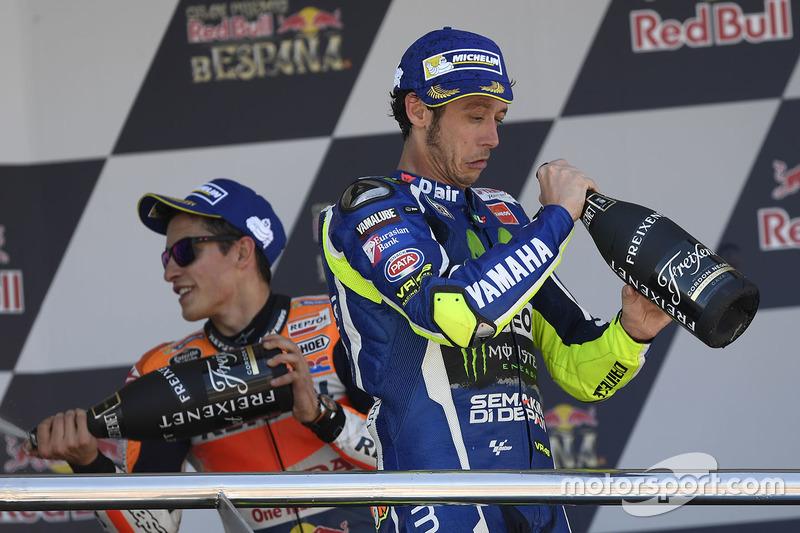 Podio: ganador, Valentino Rossi, Yamaha Factory Racing