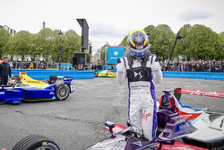 Second place Jean-Eric Vergne, DS Virgin Racing