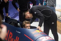 Daniil Kvyat, Red Bull Racing fits the bob with Alexander Kasyanov