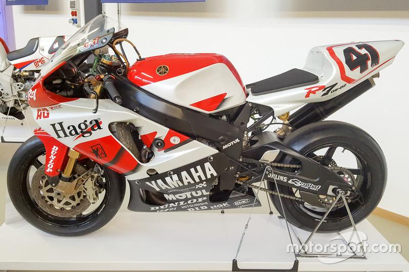 Moto Yamaha in mostra al Yamaha Superbike Temple