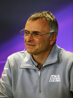 John McQuilliam, Manor Racing Technical Director in the press conference