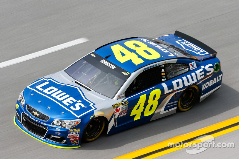 #2: Jimmie Johnson (Hendrick-Chevrolet)