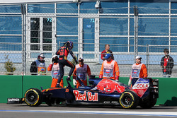 Max Verstappen, Scuderia Toro Rosso STR11, opgave