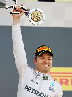 Подиум: победитель - Нико Росберг, Mercedes AMG F1 Team