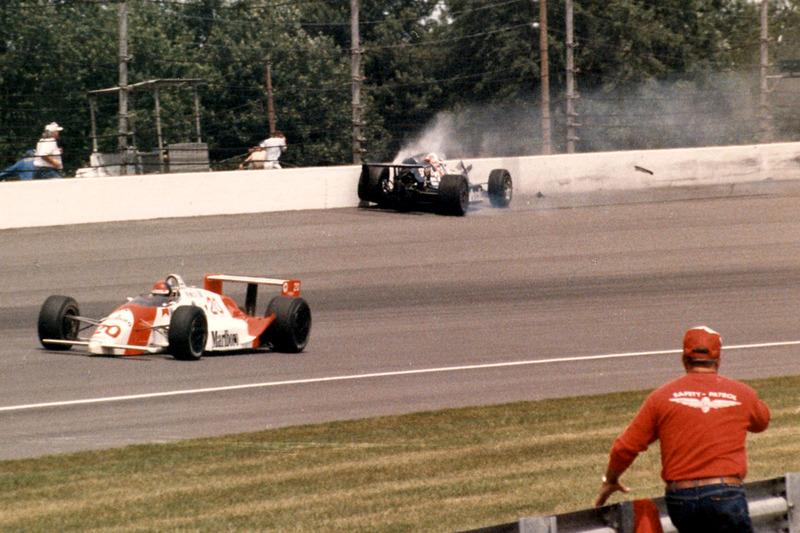 De Crash van Al Unser Jr.