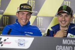 Aleix Espargaró, Team Suzuki MotoGP, Jorge Lorenzo, Yamaha Factory Racing