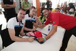 Fredrik Ekblom, Polestar Cyan Racing et Thed Björk, Polestar Cyan Racing