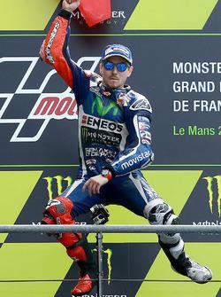 Подиум: победитель - Хорхе Лоренсо, Yamaha Factory Racing