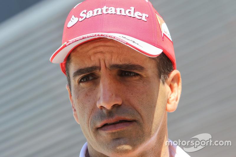 Marc Gene, Ferrari Piloto de pruebas