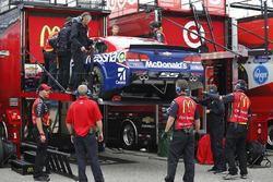 Back up car of Jamie McMurray, Chip Ganassi Racing Chevrolet