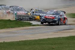 Sébastien Loeb, Team Peugeot Hansen, führt