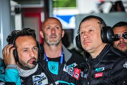 Olivier Panis, Teamchef Panis Barthez Competition, und Renaud Derlot, Teammanager Panis Barthez Competition