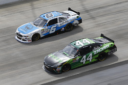 Darrell Wallace Jr., Roush Fenway Racing Ford, J.J. Yeley, TriStar Motorsports Toyota