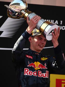 Первое место - Макс Ферстаппен, Red Bull Racing