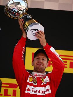 Третє місце - Себастьян Феттель, Scuderia Ferrari SF16-H