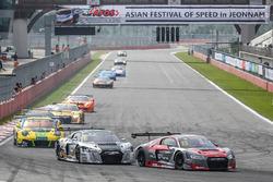 #13 Absolute Racing Audi R8 LMS GT3: Franky Cheng, JingZu Sun