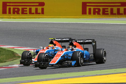 Pascal Wehrlein, Manor Racing and Rio Haryanto, Manor Racing