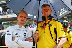 Кевин Магнуссен, Renault Sport F1 Team на стартовой решетке