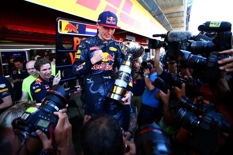 Max Verstappen tras ganar en Montmeló