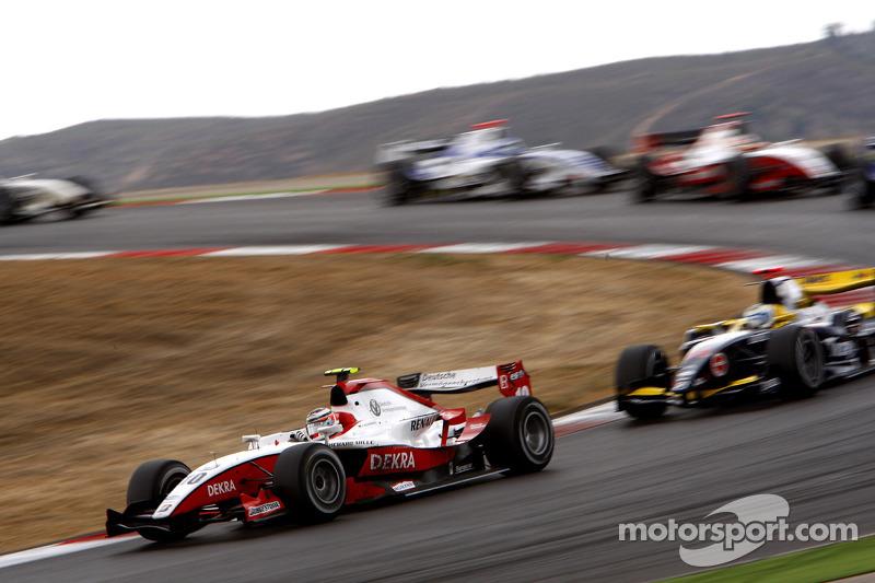 Nico Hulkenberg leads Luca Filippi