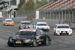 Timo Scheider, Audi Sport Team Abt Audi A4 DTM leads the field