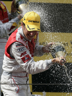Podium: race winner Timo Scheider, Audi Sport Team Abt