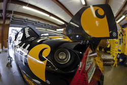 The Carhartt Ford sits in its garage stall
