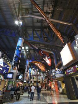 Atlanta Thrashers hockey game: inside the Philips Arena
