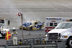 Robby Gordon, Robby Gordon Motorsports Dodge crashes