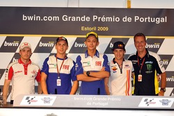 Conferencia de prensa: Mika Kallio, Pramac Racing, Jorge Lorenzo, Fiat Yamaha Team, Valentino Rossi,