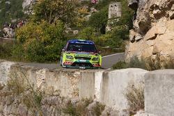 Khalid Al Qassimi and Michael Orr, BP Ford Abu Dhabi World Rally Team Ford Focus RS WRC 08