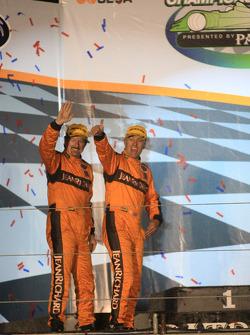 P1 podium: third place Chris McMurry and Tony Burgess