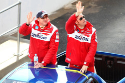 Driver Parade: #51 Sprint Gas Racing: Greg Murphy, Mark Skaife