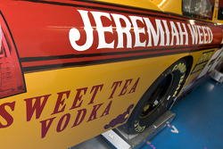 Roush Fenway Racing Ford of Jamie McMurray shows a new paint scheme