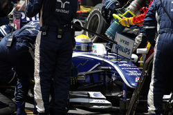Nico Rosberg, WilliamsF1 Team, pitstop