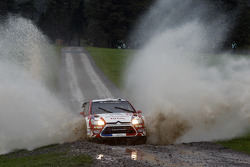 Sébastien Ogier and Julien Ingrassia, Citroen Junior Team Citroen C4 WRC